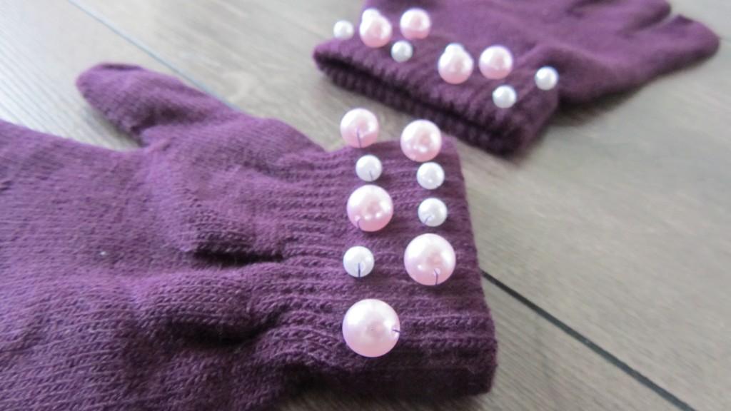 DIY Handschuhe Details