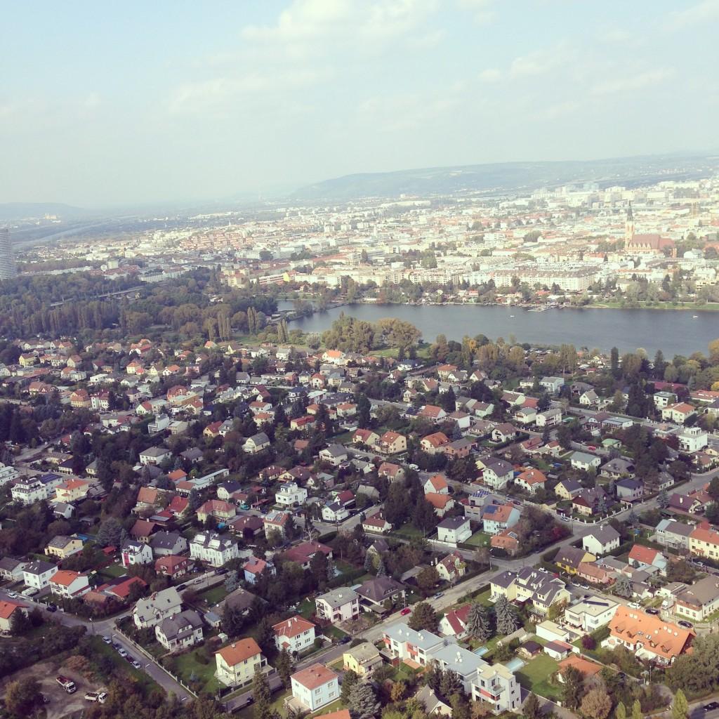 Donauturm Wien Aussicht