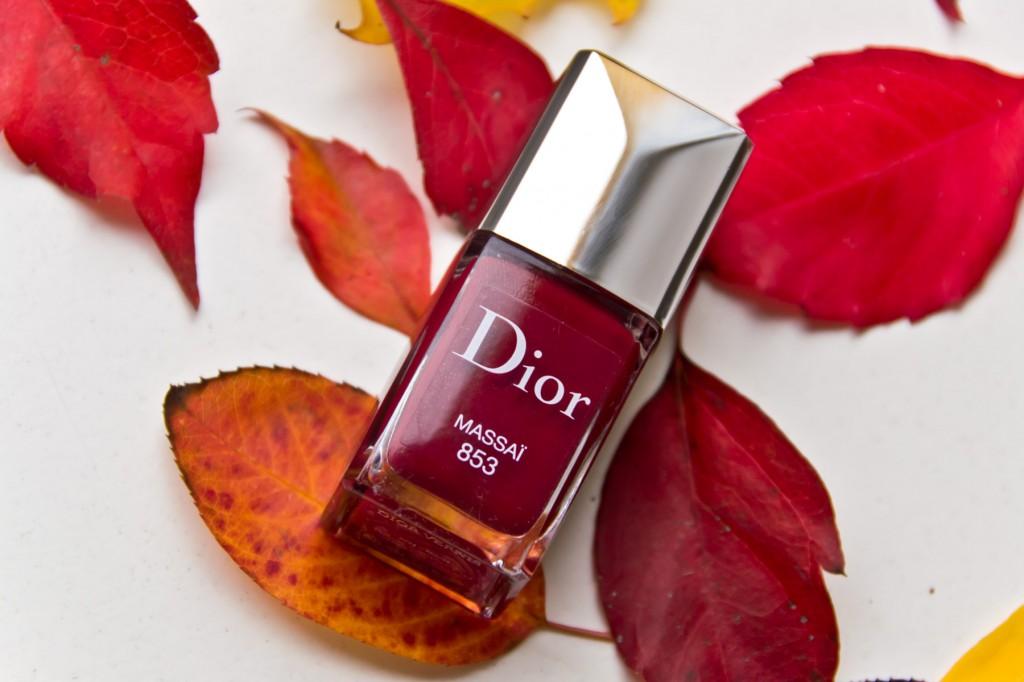 Herbstnagellacke-Dior Massai