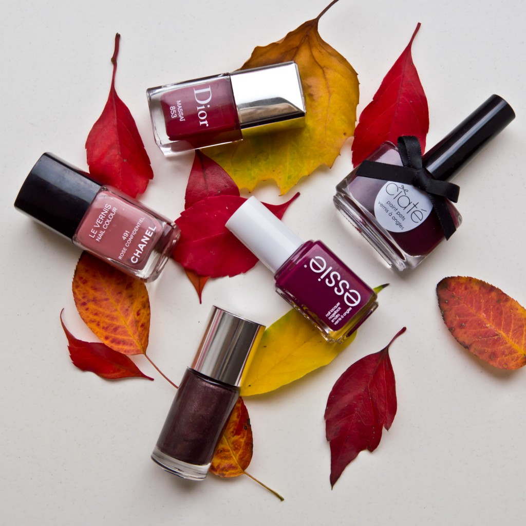 Herbstnagellacke