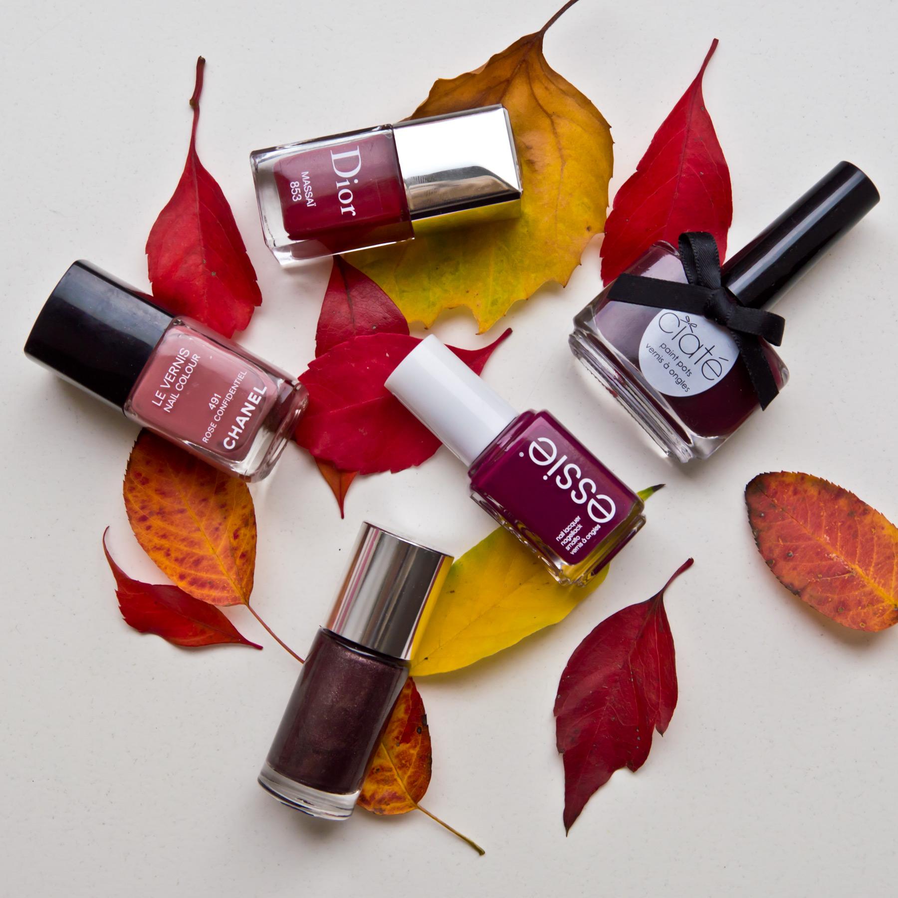 Meine fünf liebsten Herbstnagellacke | Marie-Theres Schindler ...