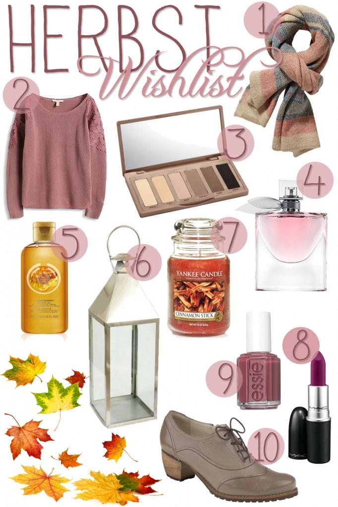 Wishlist-Herbst