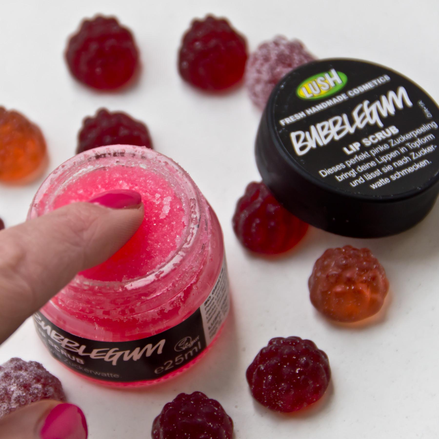 Lush Bubblegum Lip Scrub Marie Theres Schindler Beauty Blog