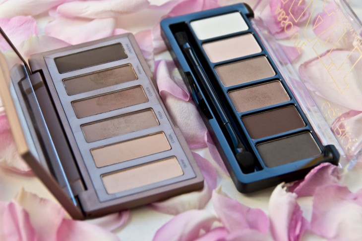 {Dupe} Urban Decay Naked 2 Basics vs. Catrice Absolute