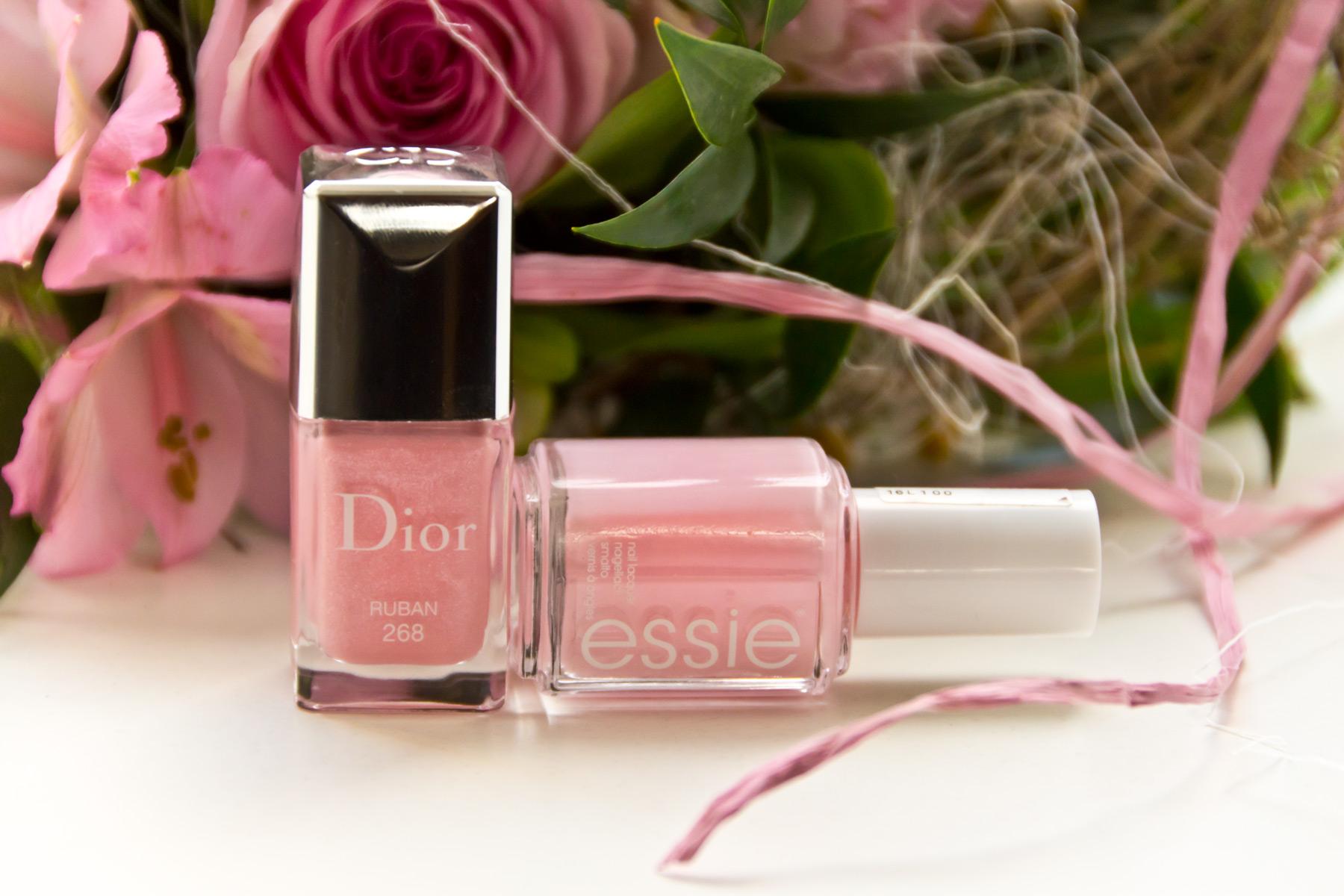 Dior Ruban über Essie Romper Room | Marie-Theres Schindler - Beauty Blog