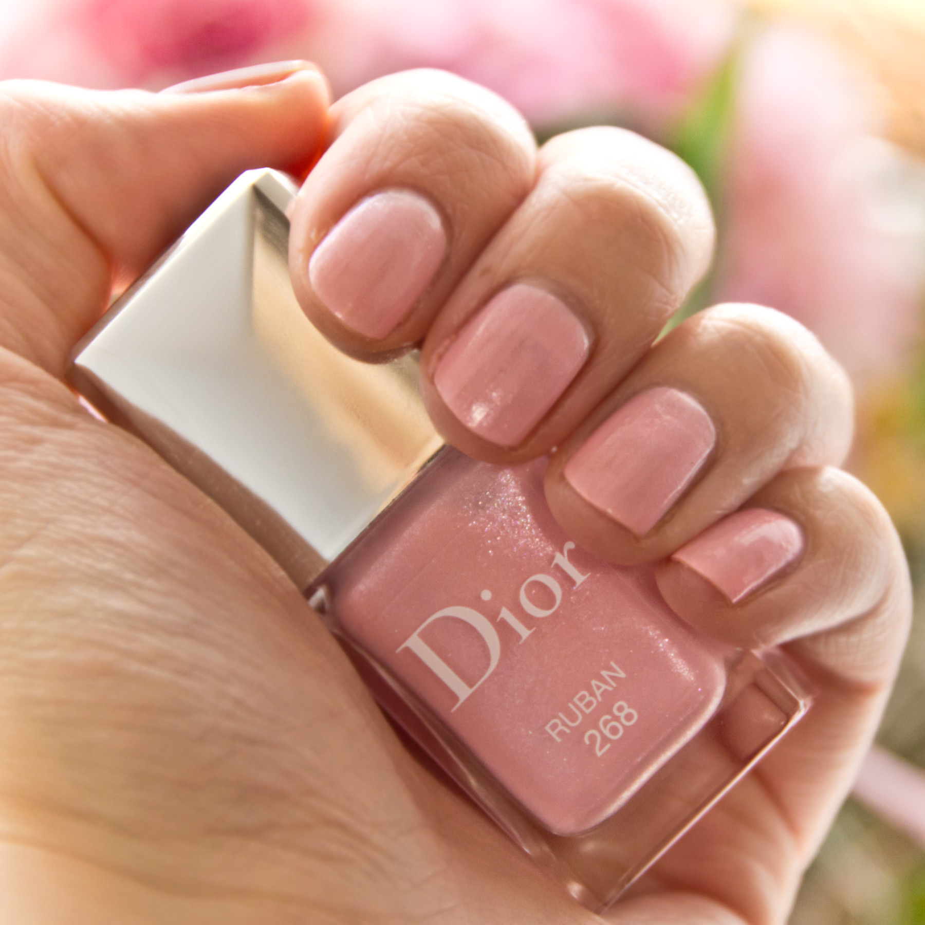 Dior Ruban über Essie Romper Room | Marie-Theres Schindler - Beauty Blog