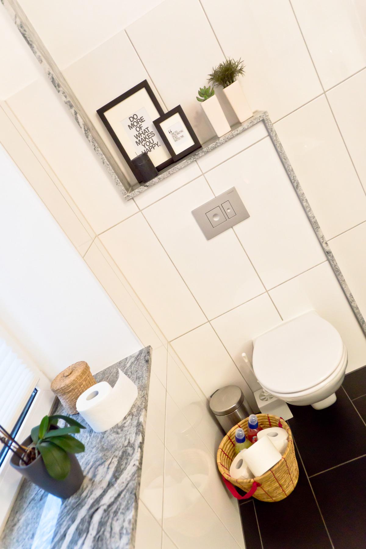 roomtour} mein badezimmer | marie-theres schindler - beauty blog, Moderne