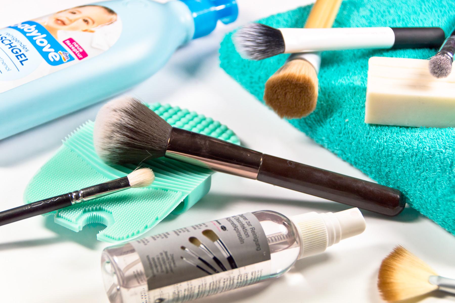 Pinsel Reinigen Meine Routine Marie Theres Schindler Beauty Blog