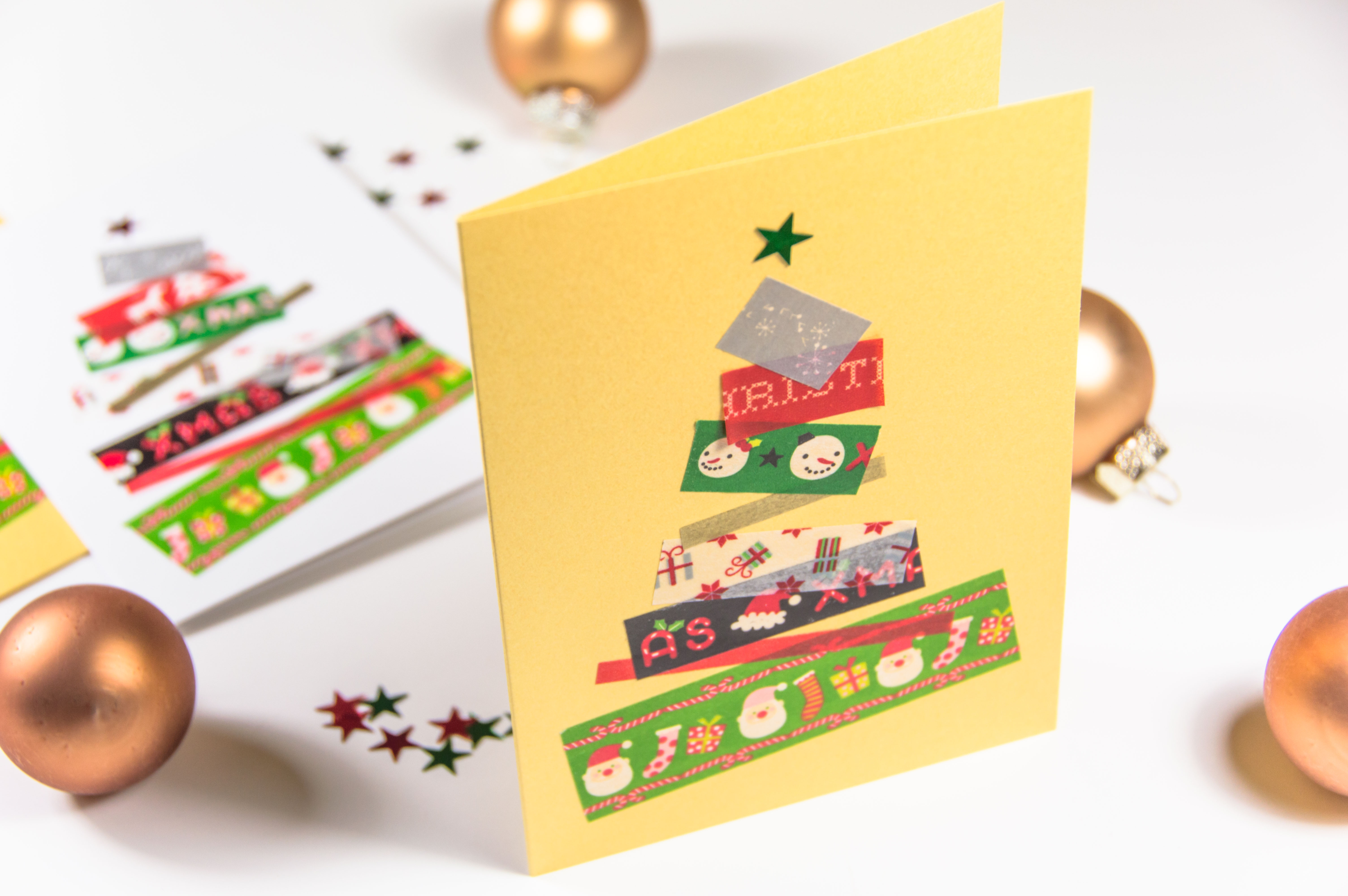 weihnachtskarten basteln so simpel so schnell so sch n. Black Bedroom Furniture Sets. Home Design Ideas