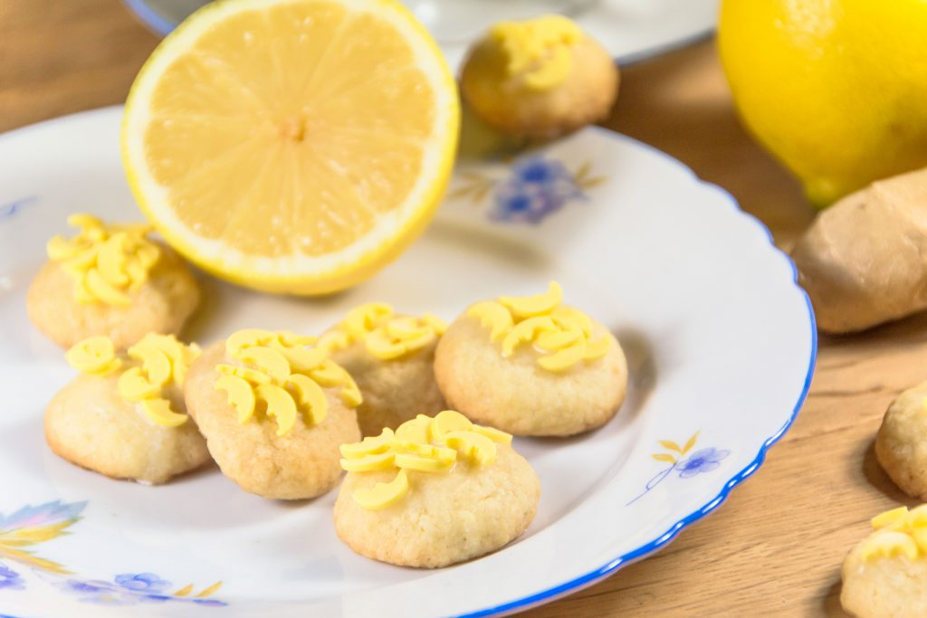 Zitronen Ingwer Kekse