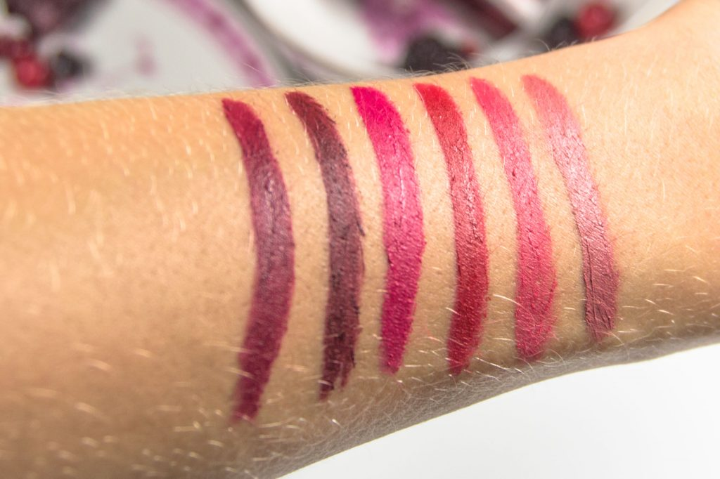 Astor Perfect Stay Fabulous Berry Matte Swatches