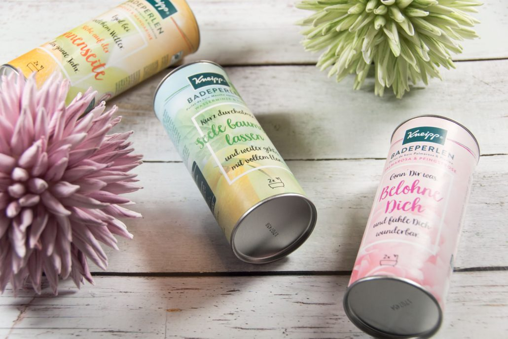 Kneipp Badeperlen-Upcycling-Basteltipps