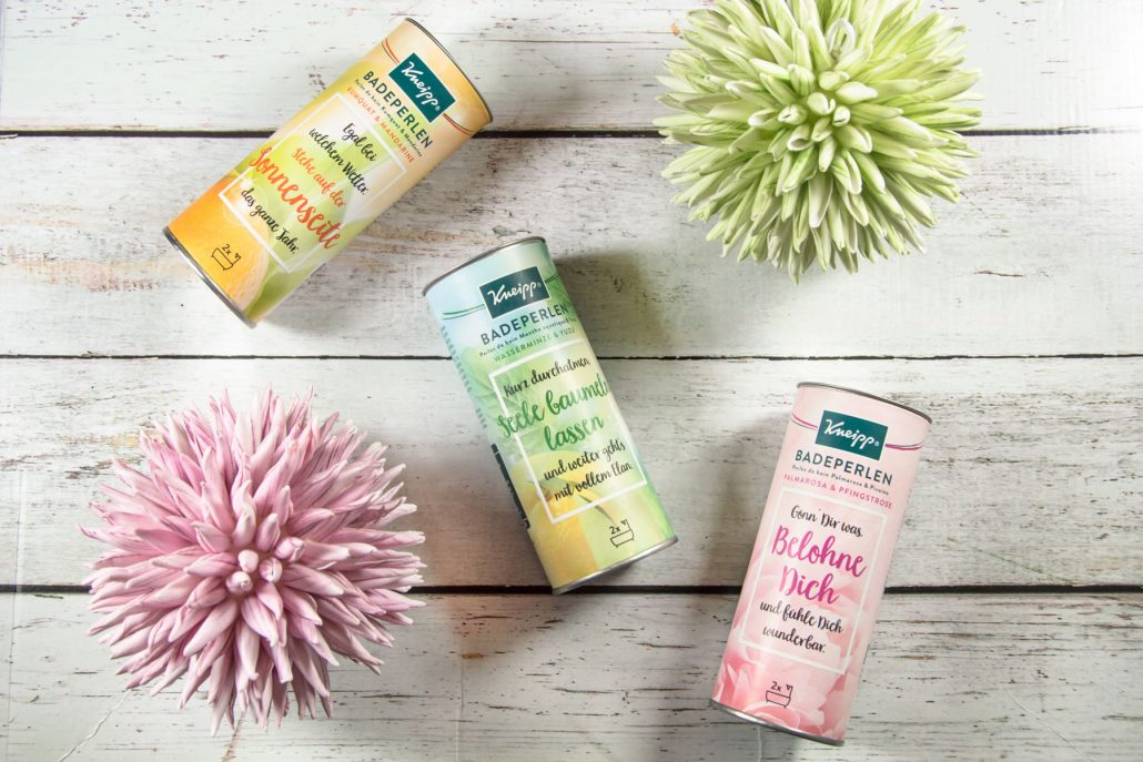Kneipp® Badeperlen-Upcycling-Basteltipps