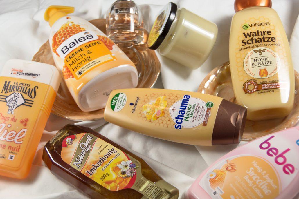 Produkte mit Honigduft