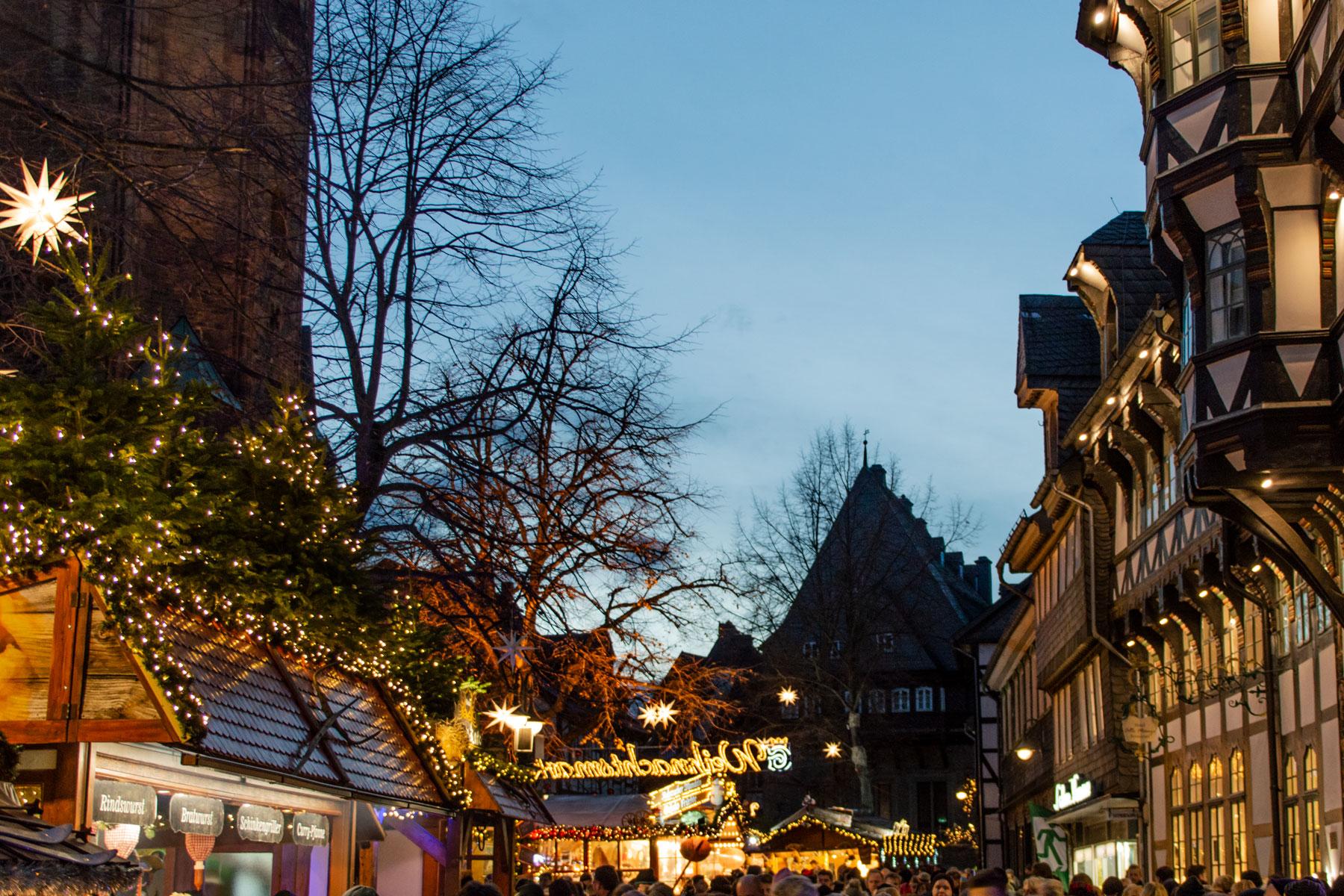 Goslar Weihnachtsmarkt.Adventskranzchen Besuch Auf Dem Weihnachtsmarkt Goslar