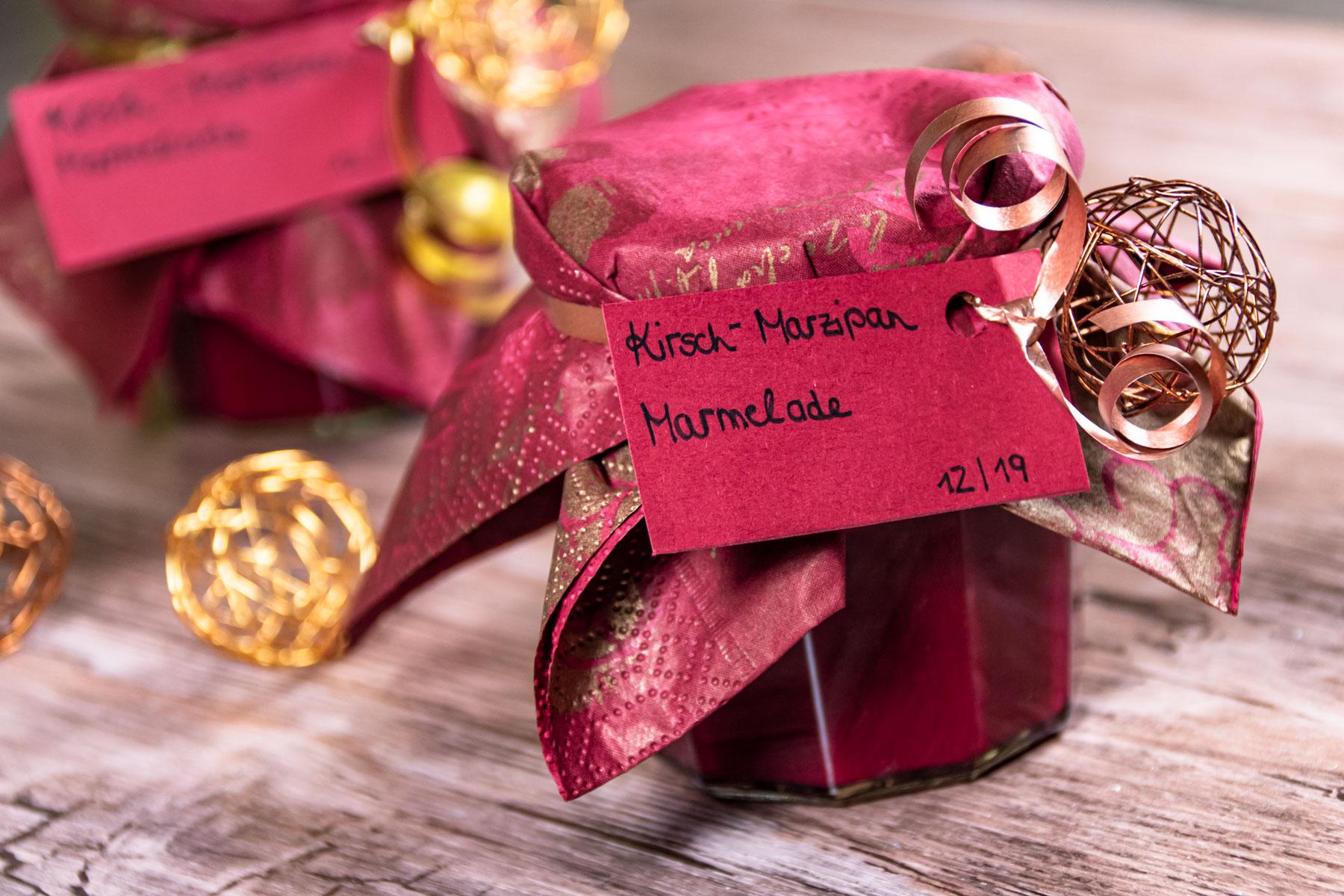 Kirsch Marzipan Marmelade