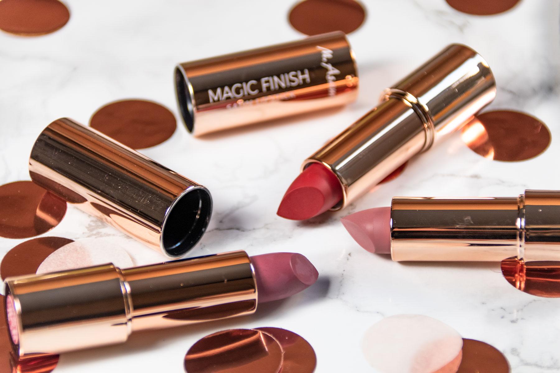 M. Asam Make-up Review Blush Lippenstift Lidschatten