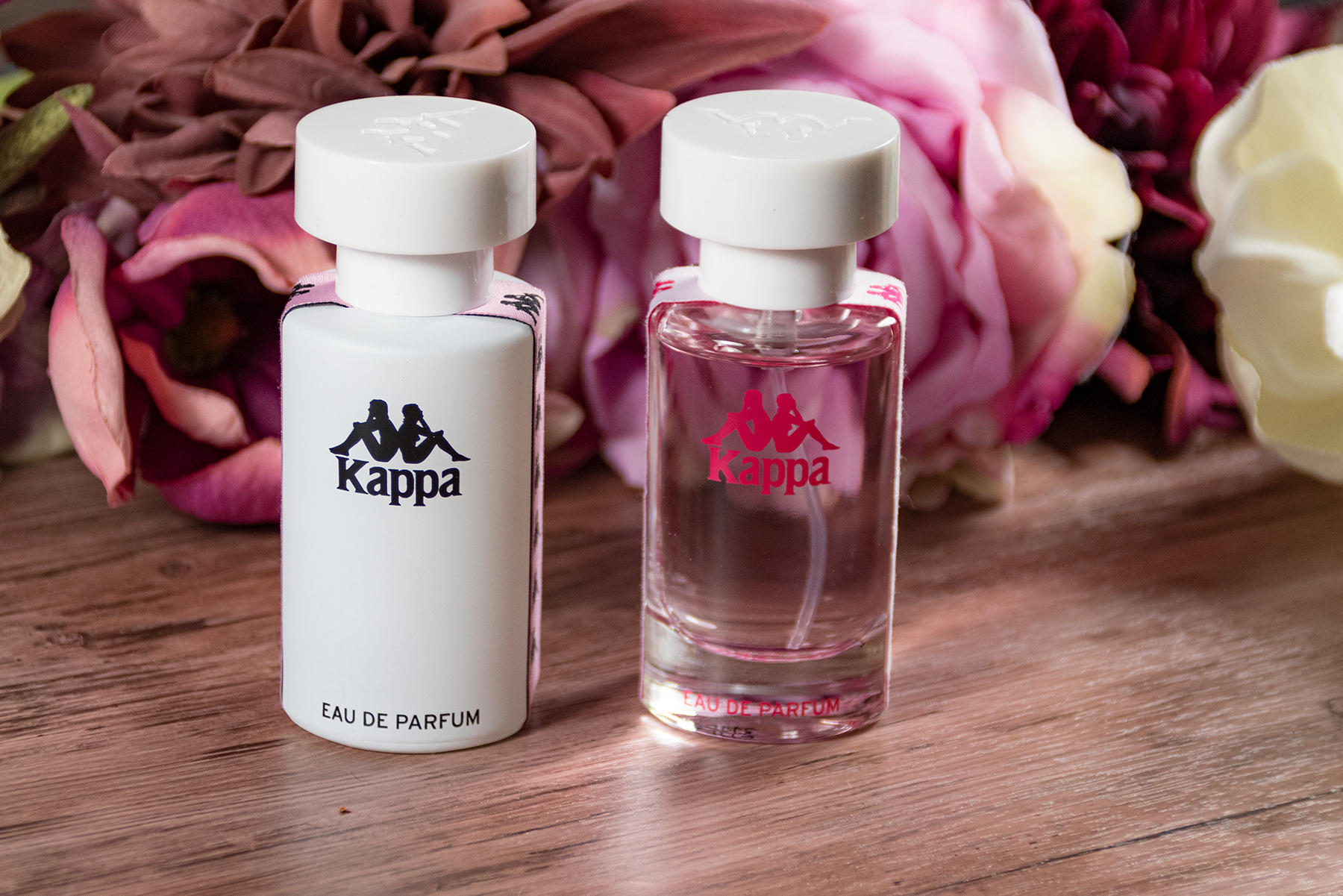 Kappa Parfum black blue white pink